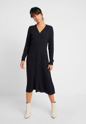 SALLIE DRESS - Košilové šaty - black