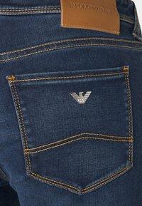 Emporio Armani - Jeans Skinny Fit - denim blu - 2