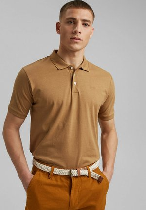 Polo shirt - camel