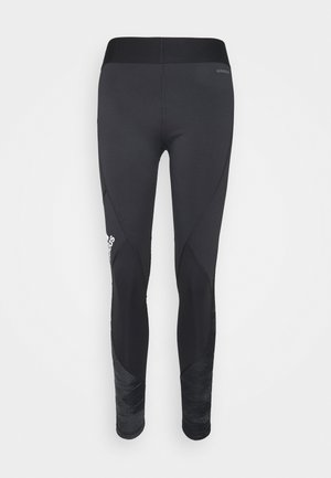 ASK - Leggings - black/white