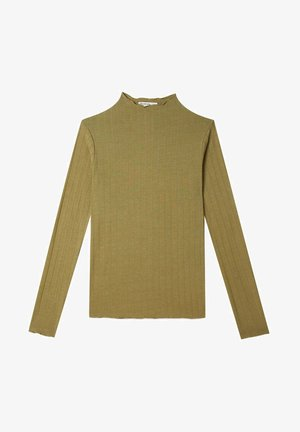 Long sleeved top - khaki