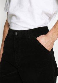 Carhartt WIP - SINGLE KNEE PANT COVENTRY - Trousers - black rinsed - 4