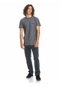 Quiksilver - KENTIN - Print T-shirt - kentin black - 1