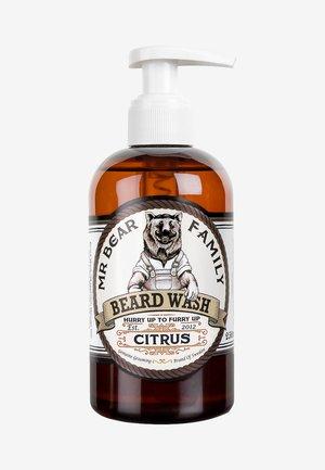 BEARD WASH - Beard shampoo - citrus