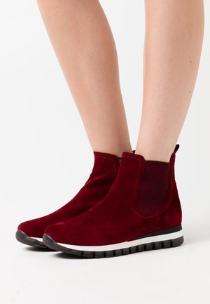 Ankle boots - dark opera