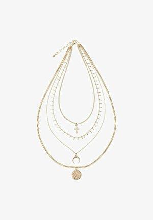 Necklace - gold colour
