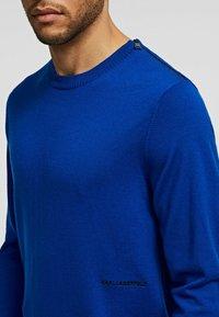 KARL LAGERFELD - Džemperis - blue - 4