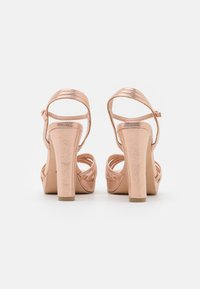 Menbur - High heeled sandals - rose gold - 3