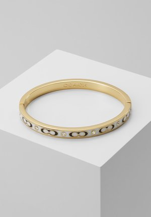 HINGED BANGLE - Armband - gold-coloured/chalk