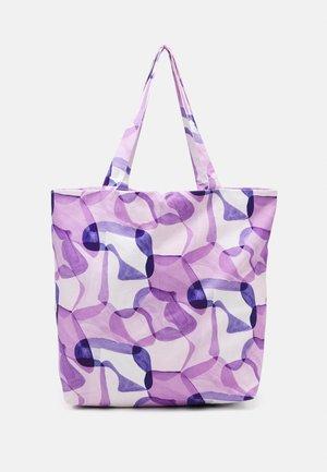 TOTE BAG PRINT UNISEX - Velká kabelka - lilac