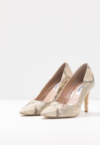 Dune London WIDE FIT - WIDE FIT ANNA - High heels - beige - 4