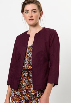 OFFENER STYLE - Blazer - red grape