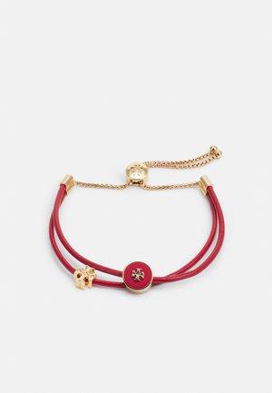 KIRA SLIDER BRACELET - Náramek - gold-coloured/ brilliant red