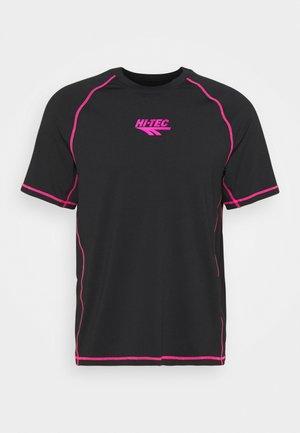 BOLT TEE - Print T-shirt - black