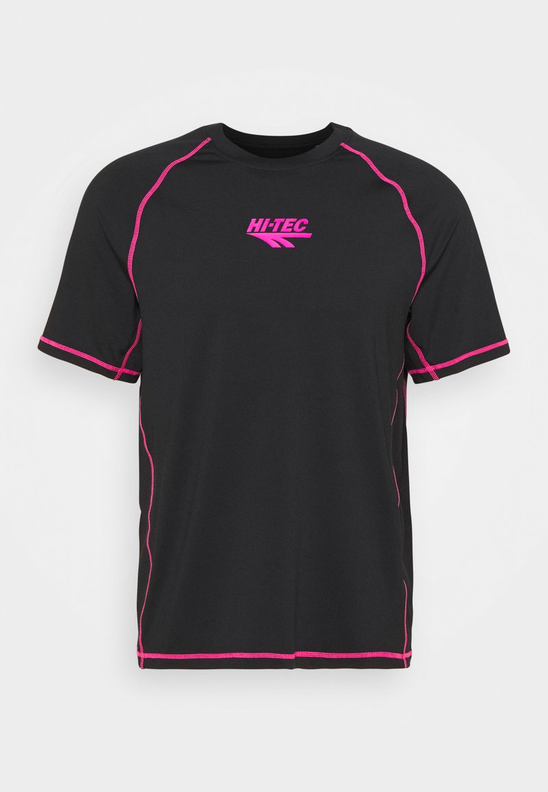 Hi-Tec - BOLT TEE - Print T-shirt - black