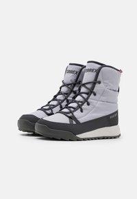 adidas Performance - TERREX CHOLEAH PADDED - Hiking shoes - grey/dough solid grey/purple tint - 1
