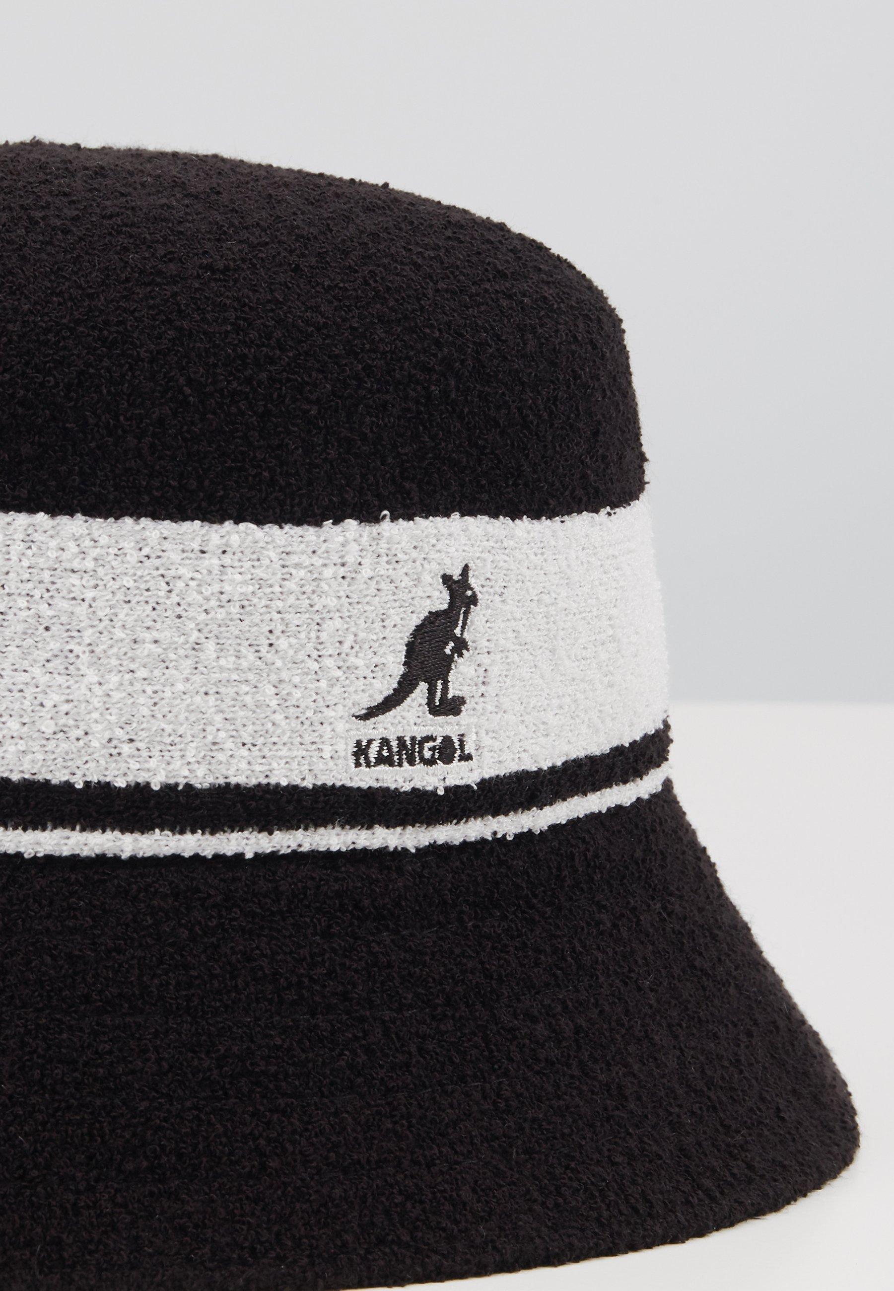 Kangol BERMUDA STRIPE BUCKET - Chapeau - black