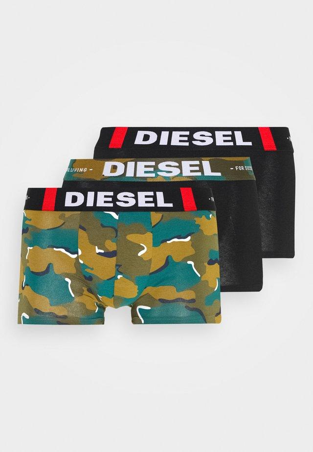 UMBX-DAMIEN 3 PACK  - Panties - black/green