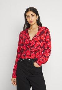 Rolla's - BELLA DATURA BLOUSE - Bluse - raspberry - 0