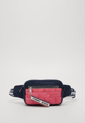 LOGO TAPE CROSSBODY - Across body bag - pink