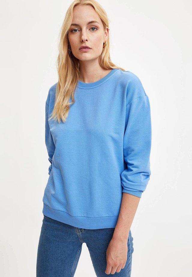 SWEATSHIRT - Felpa - blue