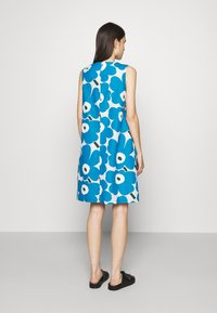Marimekko - LAINEET PIENI UNIKKO DRESS - Day dress - blue/black/off-white - 2
