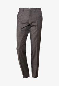 FOOT - Suit trousers - grau