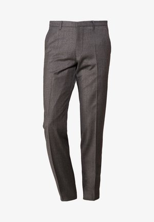 FOOT - Suit trousers - grau