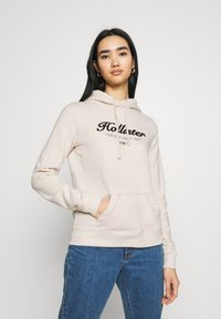 Hollister Co. - TERRY TECH CORE - Sweatshirt - cream - 0