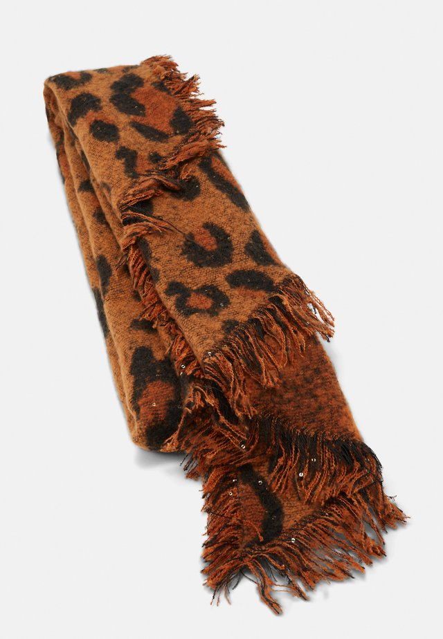 ONLSPARKLING LIFE LEO SCARF - Sjaal - ginger bread