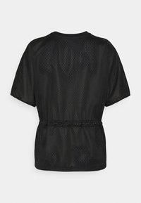 KARL LAGERFELD - MIX LOGO - Print T-shirt - black - 1