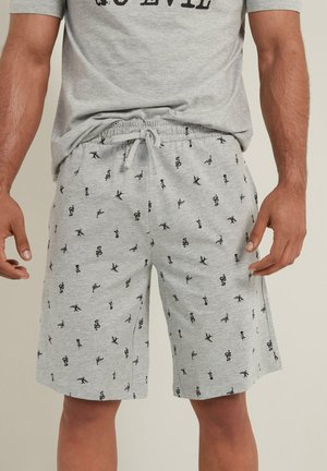 Shorts - grigio mel.chiaro st.tattoo