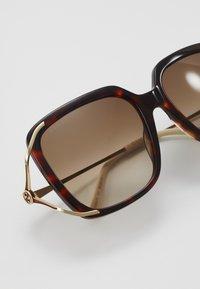 Gucci - Sunglasses - havana/gold-coloured/brown - 2