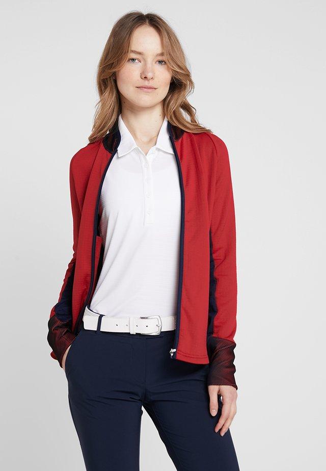 Training jacket - tokyo red/navy blue/white