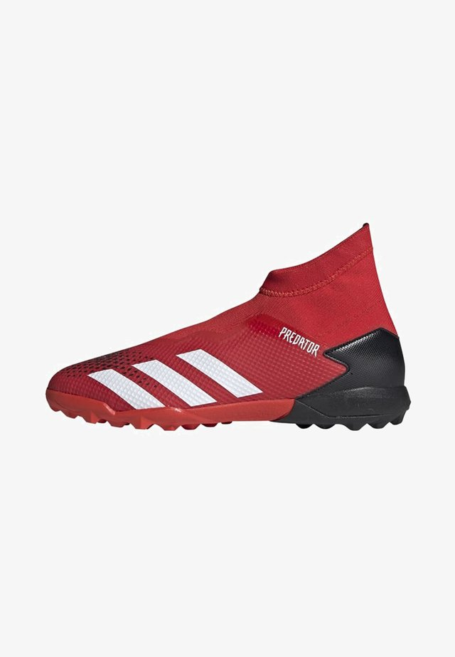PREDATOR 20.3 TURF BOOTS - Indoor football boots - red