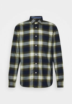 KENT COLLAR LONG SLEEVE CHEST POCKE - Camisa - green