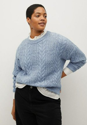 VICKY - Pullover - himmelblau