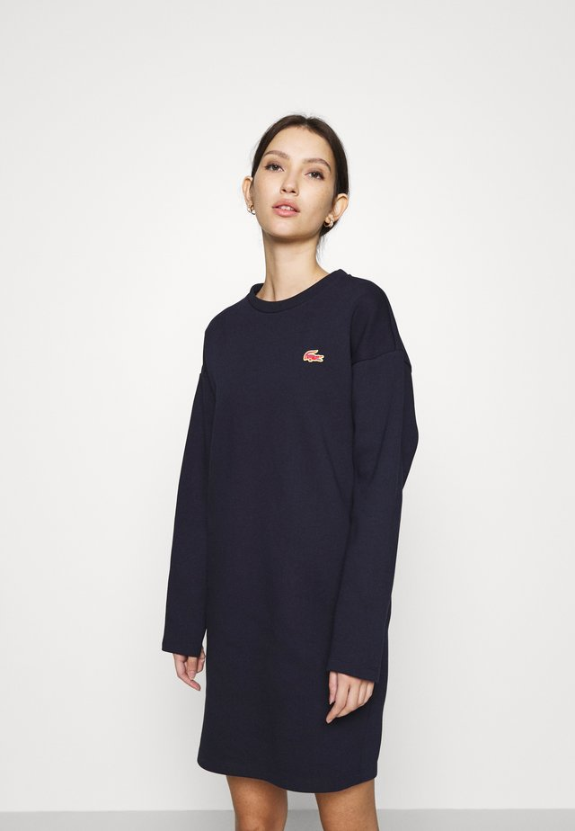 CROC LOGO - Day dress - marine