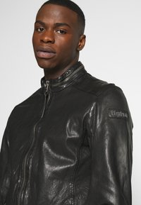 Tigha - DEACON - Leather jacket - black - 3
