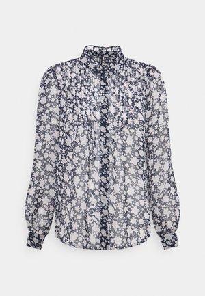 PLEAT - Bluser - navy blazer