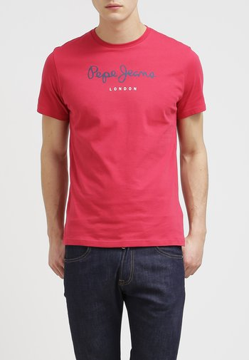 EGGO  - Print T-shirt - red
