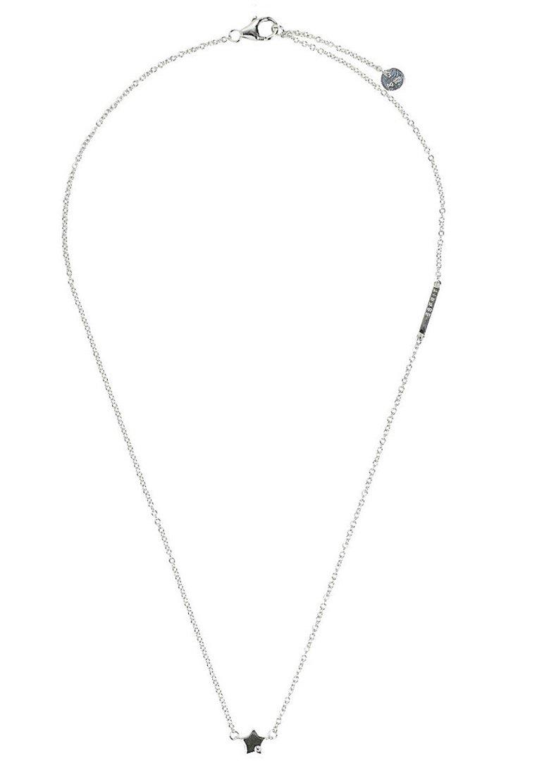 Esprit Mit Zirkonia-anhänger - Halskette Silver-coloured/silber
