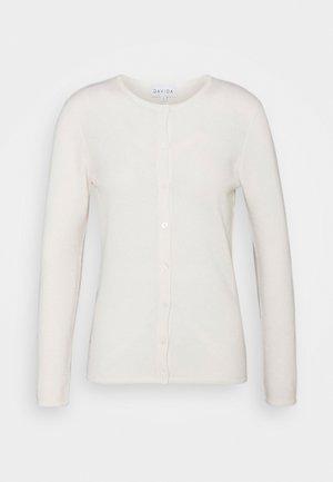 CLASSIC CARDIGAN - Cardigan - white