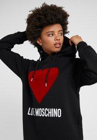 Love Moschino - DRESS - Day dress - black - 3