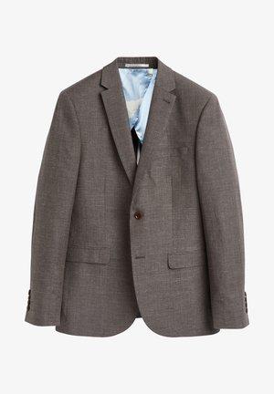 SLIM FIT - Suit jacket - brown