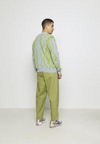 Obey Clothing - STATIC CARDIGAN - Neuletakki - good grey/multi - 2