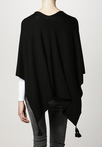 comma - PONCHO - Cape - black - 3