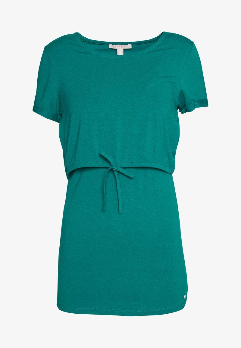 Esprit Maternity - NURSING - Print T-shirt - teal green