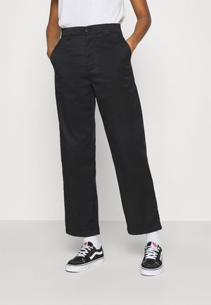 MASTER PANT - Trousers - black