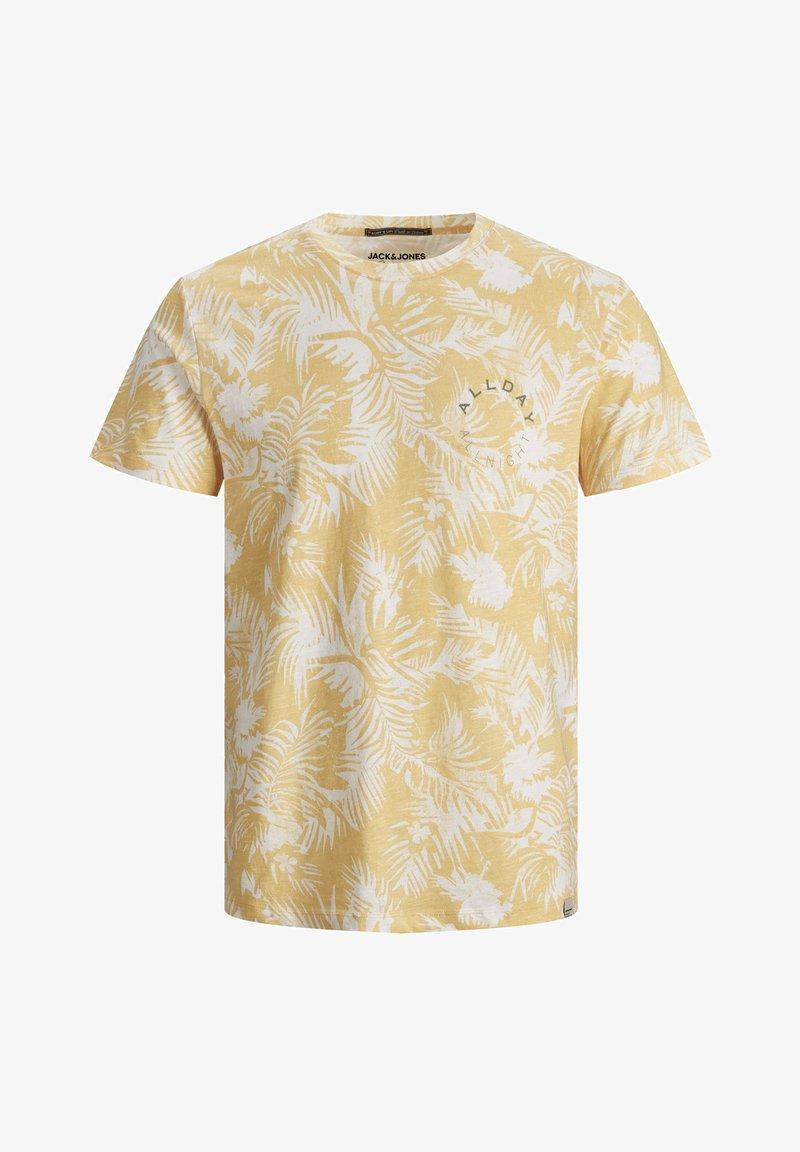 Jack & Jones - JORSUNNY  - Print T-shirt - sahara sun